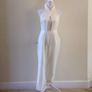 White Tobi Jumpsuit